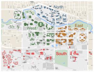 MSU APA Area Map