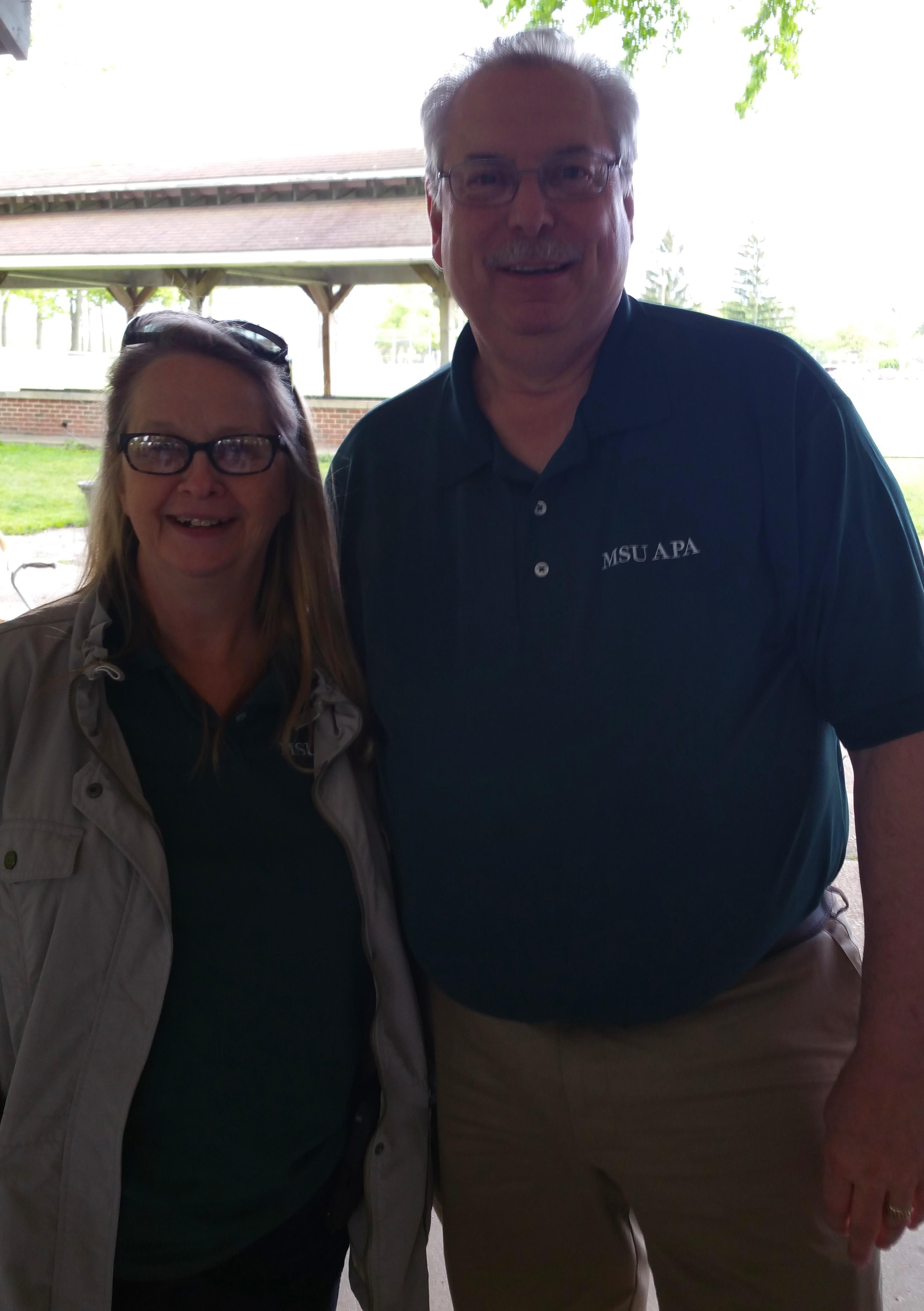 Carol Greysmith and Dennis Seybert